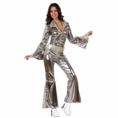 Zilveren dames disco outfits