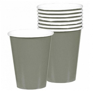 Zilveren drinkbekers 8 stuks