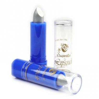 Zilveren lippenstift