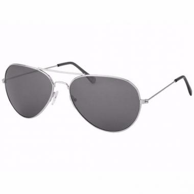 1e09f51c0648d3 Zilveren piloten vrouwen zonnebrillen model 0061