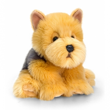 Zittende cairn terrier hond pluche 35cm