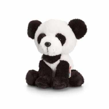 Zittende panda knuffel pluche14cm