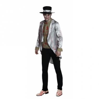 Zombie bruidegom heren kostuum