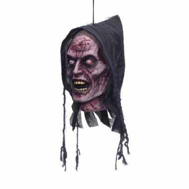 Zombie geest deco hoofd