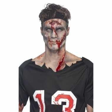 Zombie halloween schmink kit