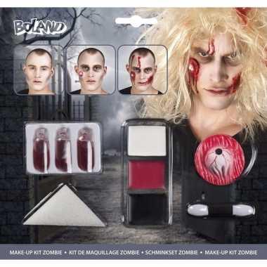 Zombie horror make-up setje