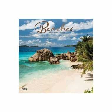 Zomer kalender mooie stranden 2019