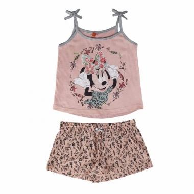 Zomer pyjama met korte broek minnie mouse