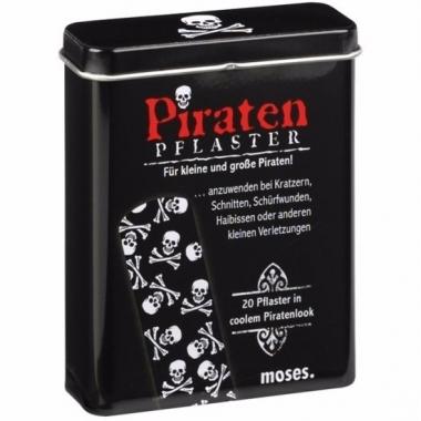 Zomerse pleisters piraten thema
