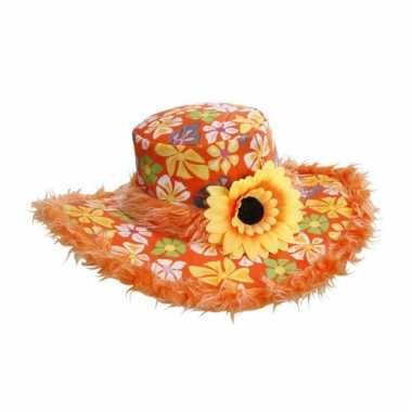 Zonnebloemen hoed ibiza