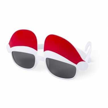 Zonnebril met kerstmutsjes