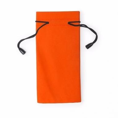 Zonnebrillen hoesjes oranje