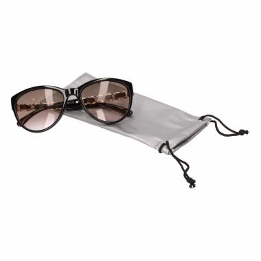 Zonnebrillen hoesjes zilver