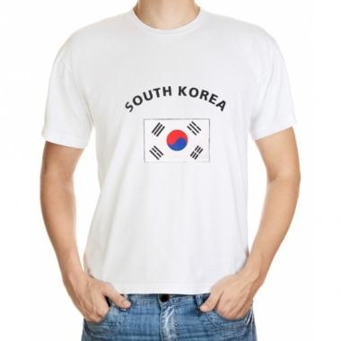 Zuid korea vlaggen t-shirts