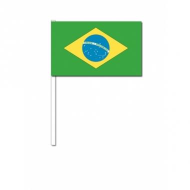 Zwaaivlaggetjes braziliaanse vlag