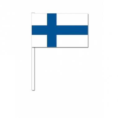 Zwaaivlaggetjes finlandse vlag