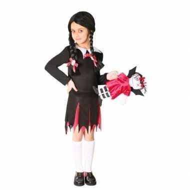 Zwart jurkje woensdag voor meiden