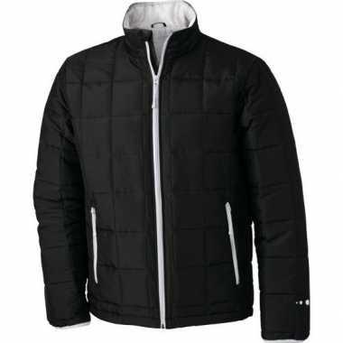 Zwart met zilver heren jasje light weight