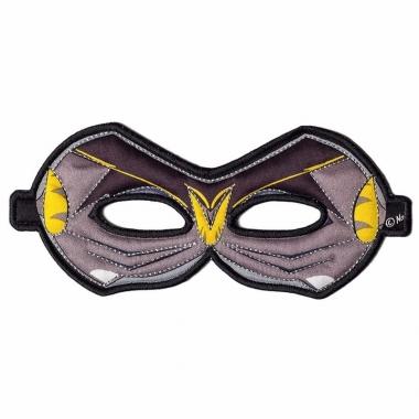 Zwart oogmasker van een vleermuis