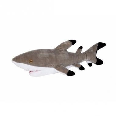 Zwarte punt rif haai pluche 75 cm