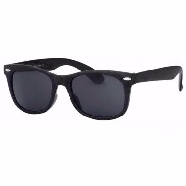 fe64d425548375 Zwarte zonnebrillen met donkere glazen