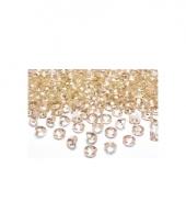 10 edelsteentjes goud 2 cm