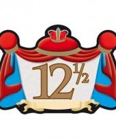 12 5 jaar jubileum huldebord