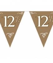 12 5 jaar jubileum slinger