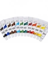 12 kleuren waterverf setje