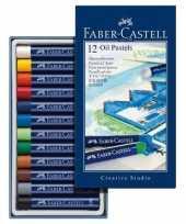 12x oliepastelkrijt faber castell 11mm