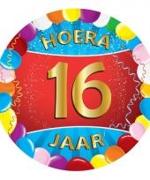 16 jaar verjaardag party viltjes