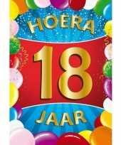 18 jaar thema deurposter 10128257