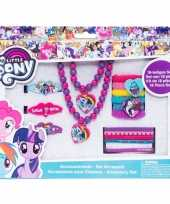 18x my little pony elastiekjes armbanden kettingen voor meisjes