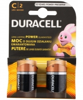 2 pack duracell batterijen cr14