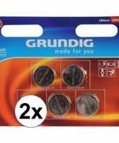 2 pakjes grundig knoopcel batterij cr 2450