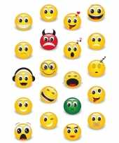 20x emoji stickertjes voor kinderen