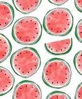 20x servetten met meloenen 33 cm