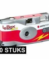 20x wegwerp cameras met 27 fotos