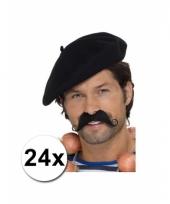 24 franse baretten deluxe
