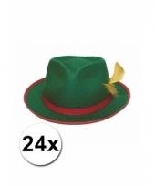 24 tiroler hoeden groen 10063315