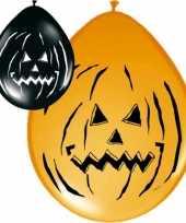 24x halloween versiering ballonnen