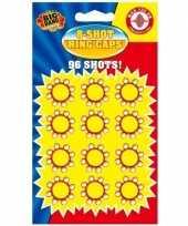 24x speelgoed pistool plaffertjes 8 schoten