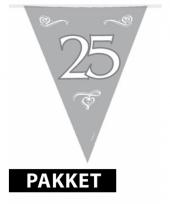 25 jaar jubileum versiering pakket