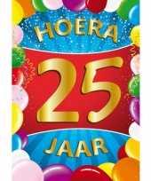 25 jaar thema mega deurposter