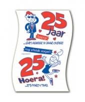 25 jaar toiletrol