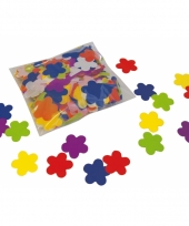250 gram bloemetjes confetti van papier