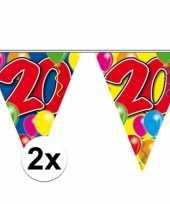 2x leeftijd slinger 20 jaar 10 meter