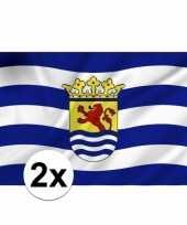 2x vlag van zeeland