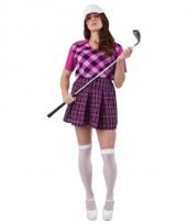 3 delig golf kostuum voor dames