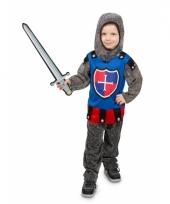 3 delig ridder kostuum voor jongens